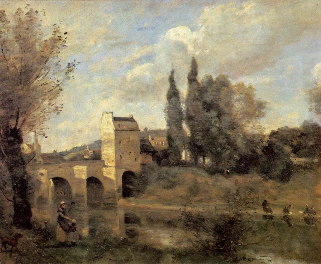 1097px-Jean-Baptiste-Camille_Corot_-_The_Bridge_at_Mantes_-_WGA05299