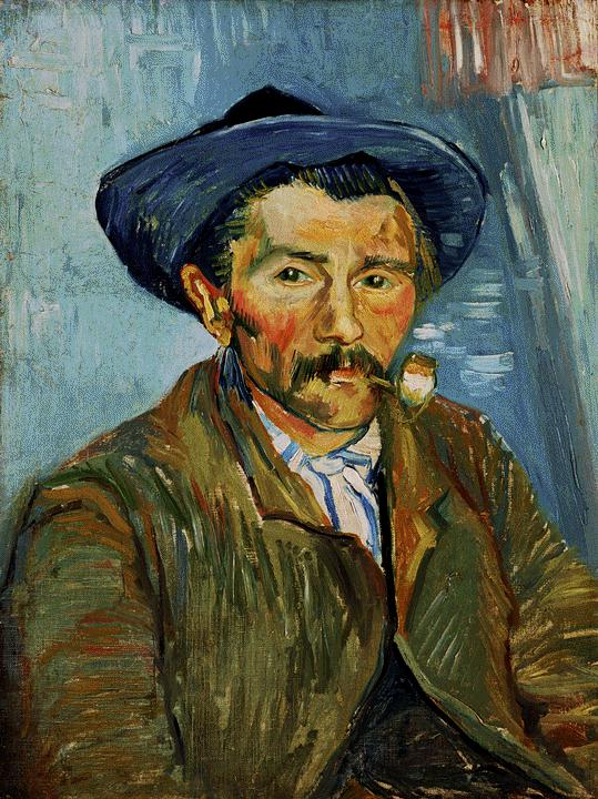 the-smoker-peasant-1888